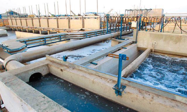 Planta de tratamiento de aguas residuales Taboada