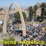 Vecinos en Tacna Arsenico en el agua
