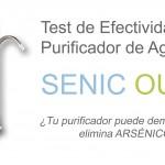 Test de Efectividad de Filtro Purificador de Agua Senic Out HIDROLIT elimina arsénico y metales pesados del agua